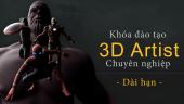 Đạo tạo 3D Artist chuyên nghiệp dài hạn